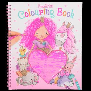 Princess Mimi - Colouring Book w/Sequin (0410839)