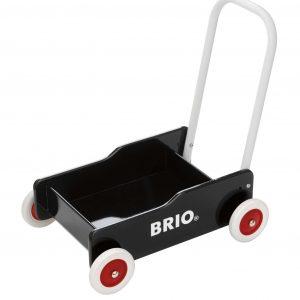 BRIO - Kävelyvaunu, musta (31351)