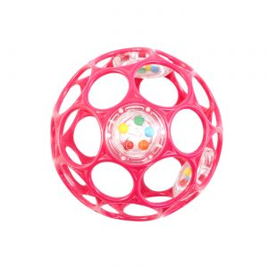 Oball - Rattle 10 cm - Pink (12030)