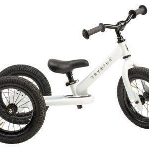 Trybike - 3 Wheel Steel - White (30TBS-3-WHT)