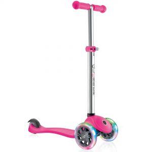 GLOBBER - Scooter - PRIMO LIGHTS V2 - Pink