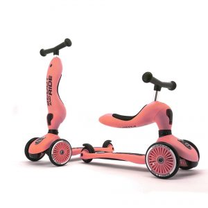 Scoot and Ride - 2 in 1 Balance Bike/ Scooter - Peach (160629-10)