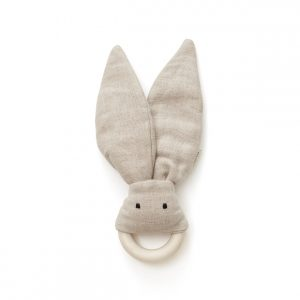 Kids Concept - Bite Ring in Linen - Beige (1000461)