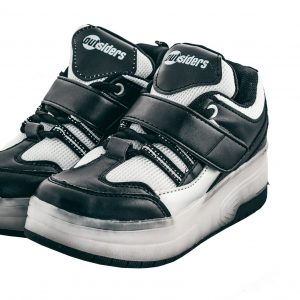 Outsiders - Roller Shoes with LED - Black/Silver (size: 32)