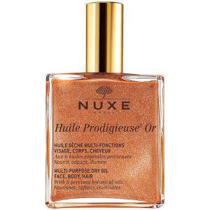 Nuxe - Huile Prodigieuse Golden Shimmer Face, Body And Hair Oil 100 ml