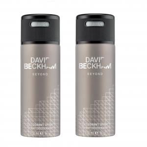 David Beckham - 2x Beyond Deodorant Spray 150 ml