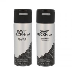 David Beckham - 2x Beyong Forever Deodorant Spray 150 ml