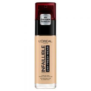 L'Oréal - Infallible Mattifying Foundation - 100 Linen