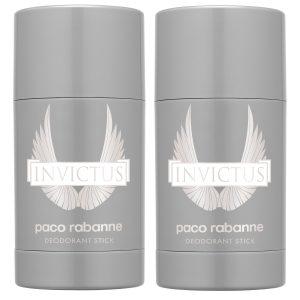 Paco Rabanne - 2x Invictus Deodorant Stick 75 ml