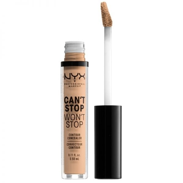 NYX Professional Makeup - Can't Stop Won't Stop Concealer - Natural