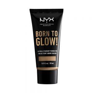 NYX Professional Makeup - Born To Glow Naturally Radiant Foundation - Caramel
