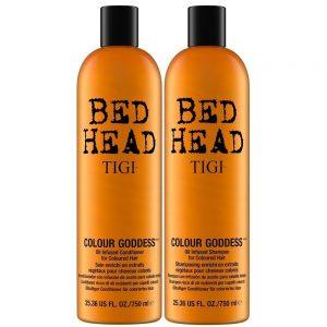 TIGI - Bed Head Colour Goddess Oil Infused Shampoo + Conditioner 2x 750 ml