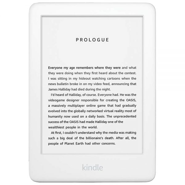 Amazon - Kindle 2019 10th Gen - Valkoinen