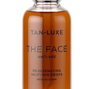 Tan-Luxe - Self Tan Oil Face Anti-Age Medium/Dark 30 ml