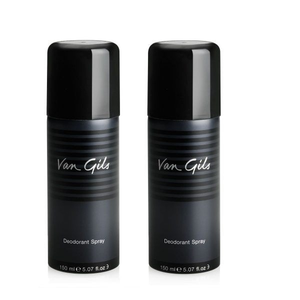 Van Gils - 2x Strictly for Men Deodorant Spray 150 ml