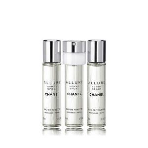 Chanel - Allure Homme Sport EDT Refill 3 x 20 ml