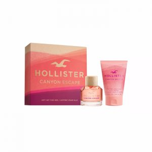 Hollister - Canyon Escape for Her EDP 50 ml + Body Lotion 100 ml- Giftset