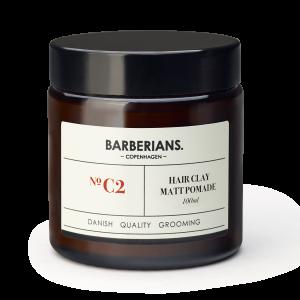 Barberians Copenhagen - Pomade Clay 100 ml