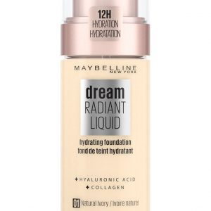 Maybelline - Dream Radiant Liquid Foundation - 1 Natural Ivory