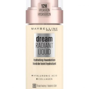 Maybelline - Dream Radiant Liquid Foundation - 3 True Ivory