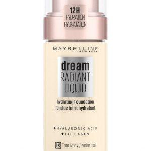 Maybelline - Dream Radiant Liquid Foundation - 3 True Ivory