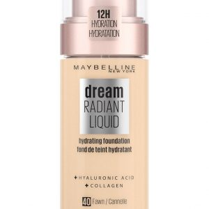 Maybelline - Dream Radiant Liquid Foundation - 40 Fawn