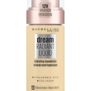 Maybelline - Dream Radiant Liquid Foundation - 44 Natural Beige
