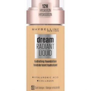 Maybelline - Dream Radiant Liquid Foundation - 48 Sun Beige
