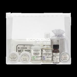 Ecooking - Aloituspakkaus ml. Puhdistusgeeli
