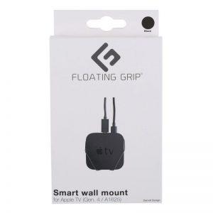 Floating Grip Apple TV Gen. 4 Wall Mount Black