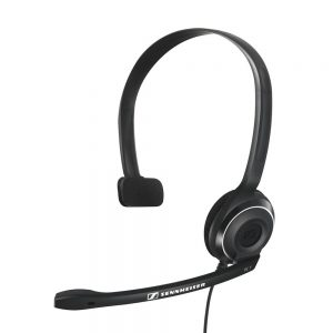 EPOS - Sennheiser - PC 7 Corded USB Noise Cancelling PC Headset - Black
