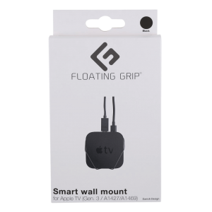 Floating Grip Apple TB Gen. 3 Wall Mount Black