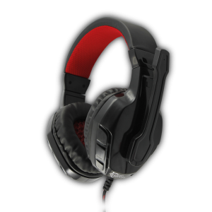White Shark - Panther Gaming Headset (Black/Red)