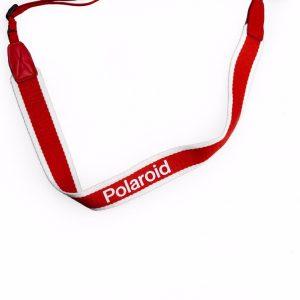 Polaroid - Camera Strap Flat For Polaroid Cameras - Red