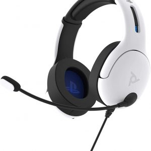 PDP LVL50 Wired Headset White