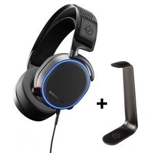 Steelseries - Arctic PRO + Headset stand HS 1 - Bundle
