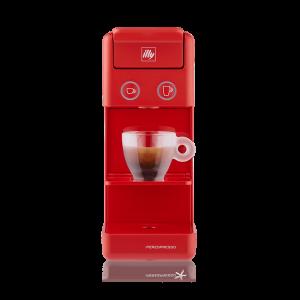 illy - Y3.3 Iperespresso - Espresso & Coffee Machine - Red