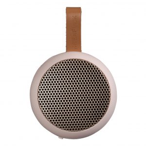 KreaFunk - aGO Bluetooth Speaker - Dusty Pink/Rose Gold Grill (Kfwt33)