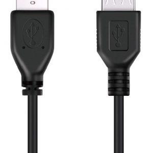 DON ONE CABLES - USBE300 BLACK - USB-JATKOJOHTO LATAAMISTA - 300CM