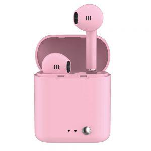LEDWOOD - Wireless Headphones T14 TWS - Bluetooth - Rosa