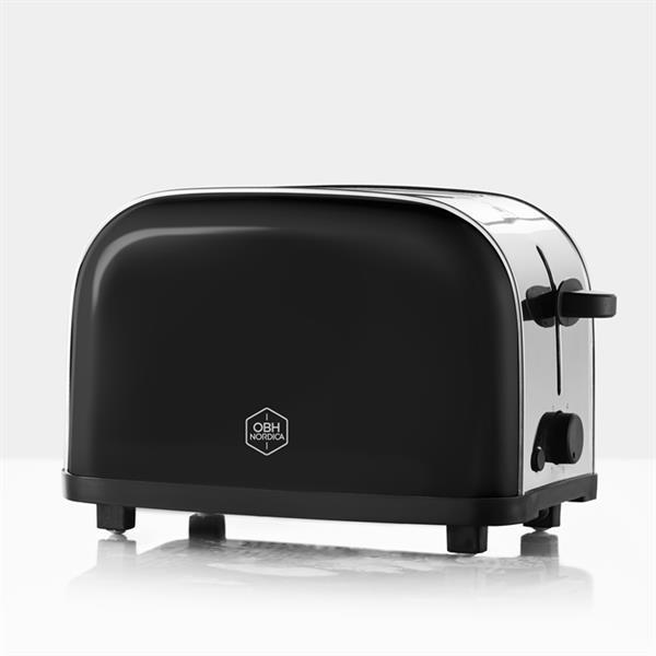 OBH Nordica - Manhattan Black 2 Toaster - Black (2720)
