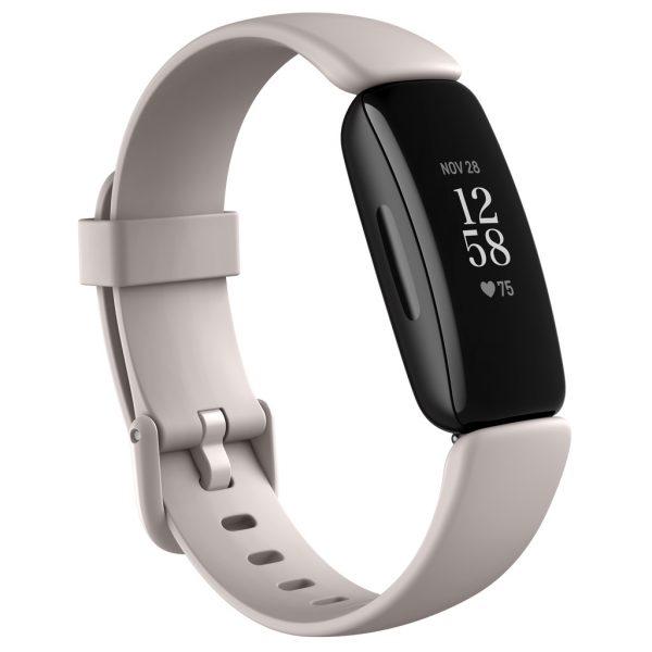 Fitbit - Inspire 2 - Fitness Tracker - Lunar White