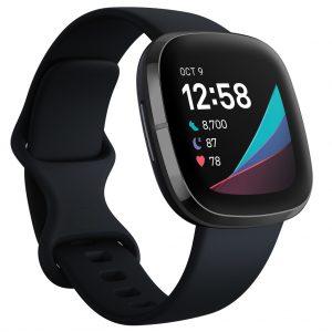 Fitbit - Sense Advanced Smart Health Smartwatch - Carbon/Graphite