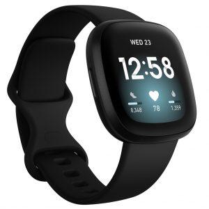 Fitbit - Versa 3 - Smart Watch - Black