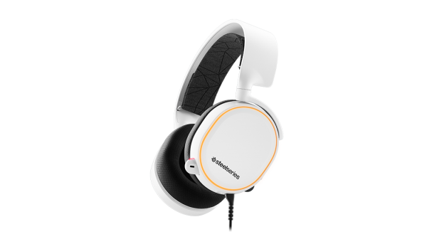 Steelseries - Arctis 5 Gaming Headset - White