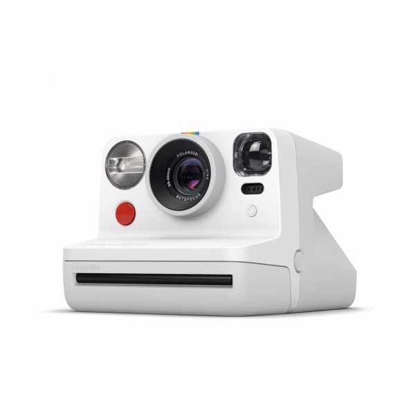Polaroid - Now Point & Shoot Camera - White