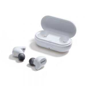 Boya - Earbuds True Wireless In-Ear Headphones - White