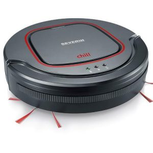 Severin - Vaccum Robot Cleaner - Antracit/Red (493820)