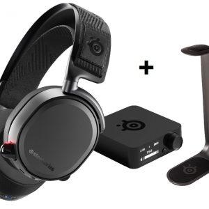 Steelseries - Arctis Pro Wireless + Headset stand HS - Bundle