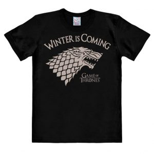 Game Of Thrones - Winter Is Coming - Easyfit - black - Original licensed product